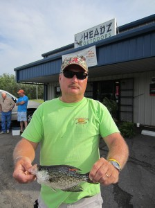 Ken McLendon and the 9th tagged fish in the 2013 Derby.