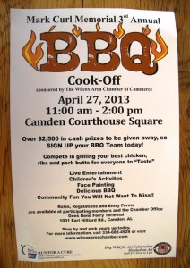 2013 BBQ Poster