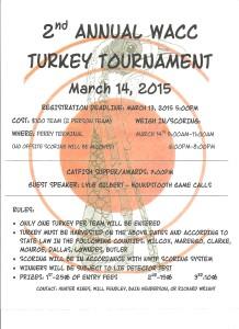 Turkey Tournament Flyer